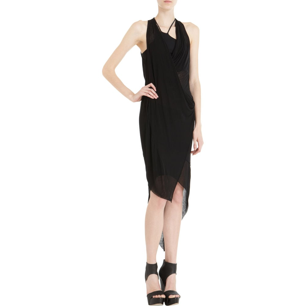 Helmut Lang Asymmetrical Hem Dress ($380)