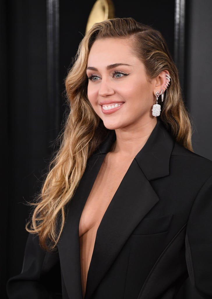 Miley Cyrus at the 2019 Grammys