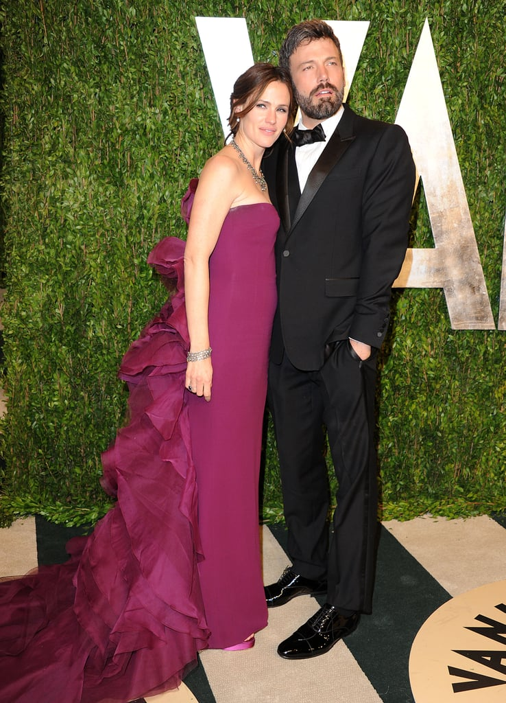 Jennifer Garner and Ben Affleck posed together.