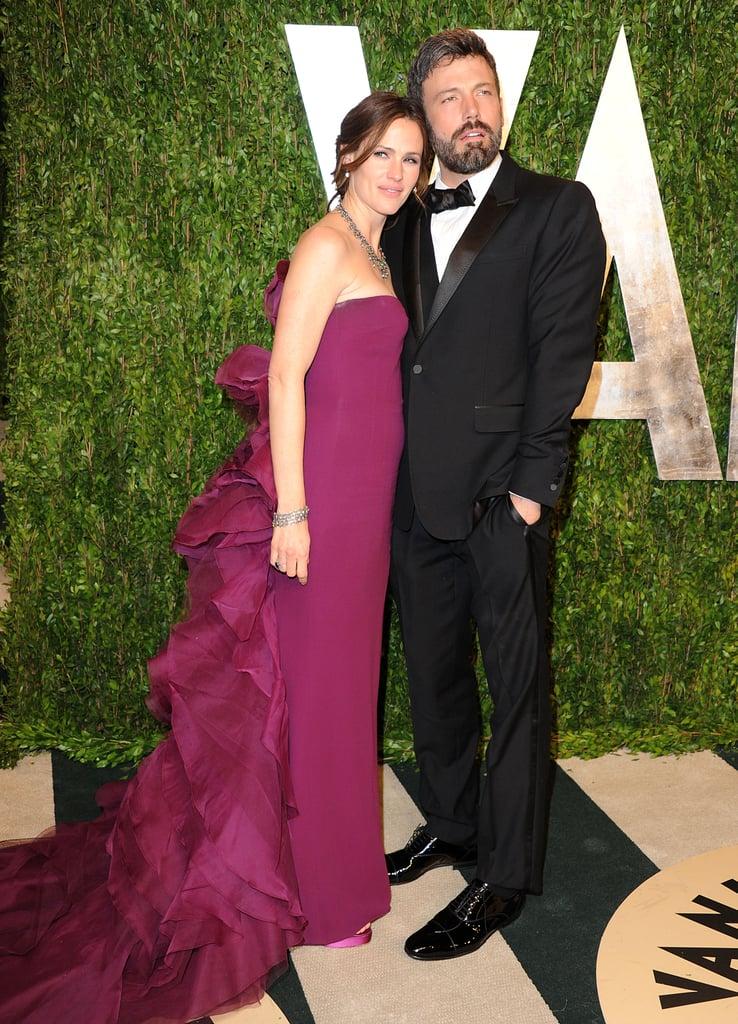 Jennifer Garner and Ben Affleck posed together.