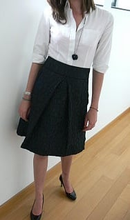 Look of the Day: Fabulously Full Skirted