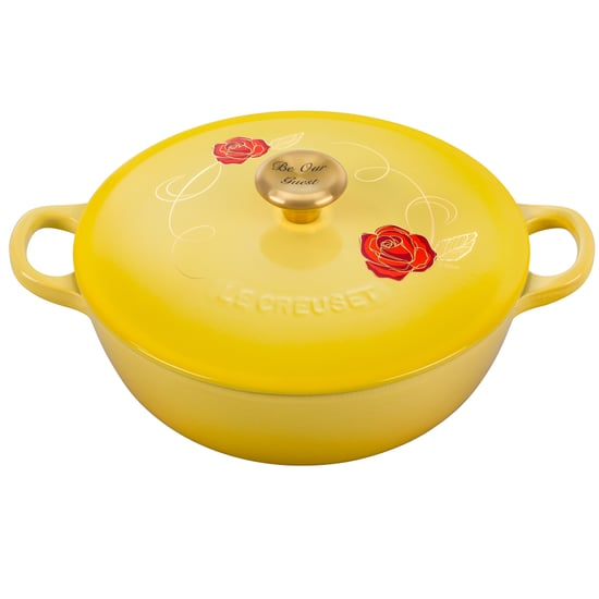 Disney Beauty and the Beast Soup Pot by Le Creuset in Soleil