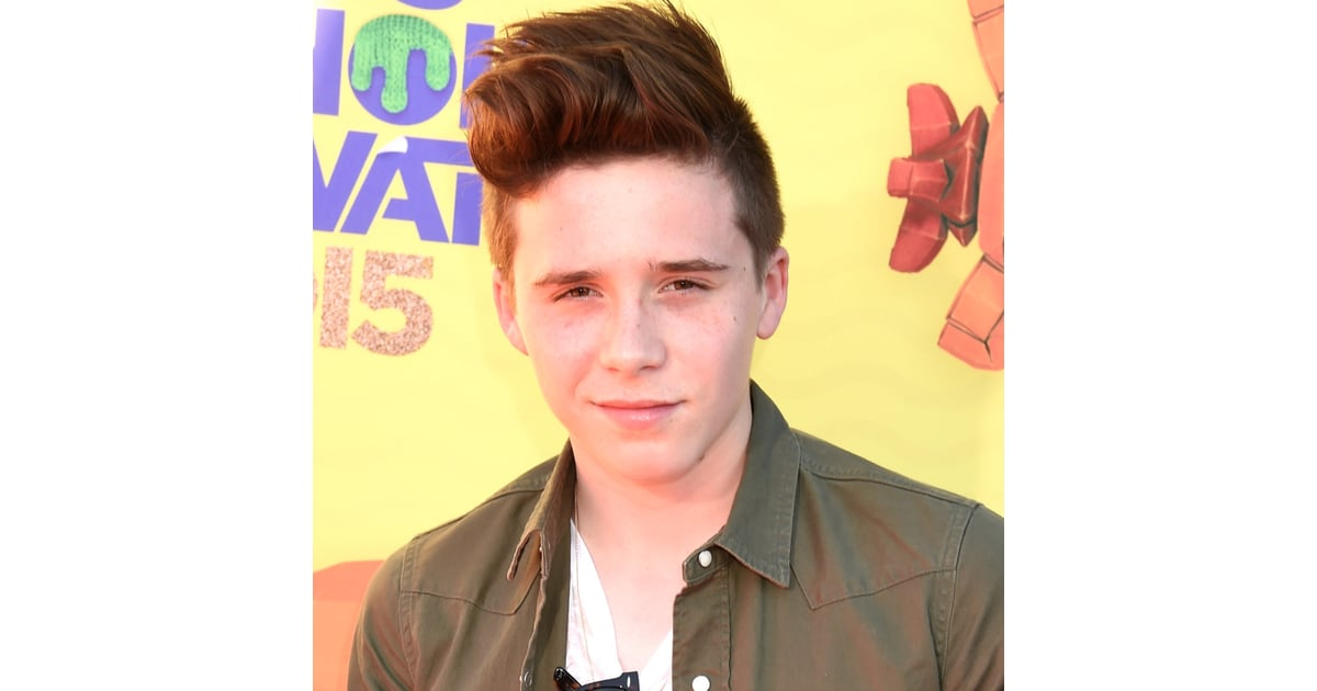 Brooklyn Beckham Popsugar Celebrity