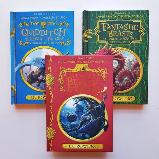 Dyslexia-Friendly Harry Potter Hogwarts Books