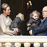 Princess Charlene of Monaco and Prince Albert II of Monaco