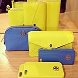 The Tory Burch line of Spring accessories makes sure you'll never lose your phone in your purse again.