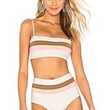 L*SPACE Rebel Stripe Bikini