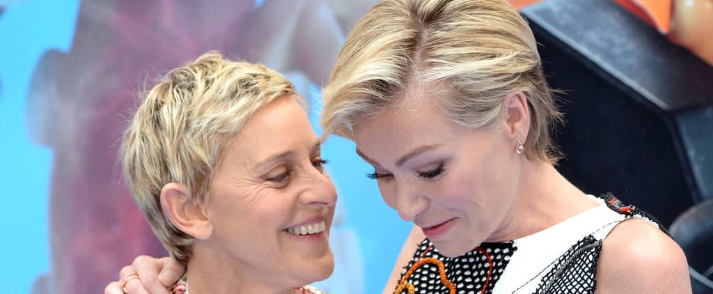 Ellen DeGeneres Only Has Eyes For Portia de Rossi on the Red Carpet