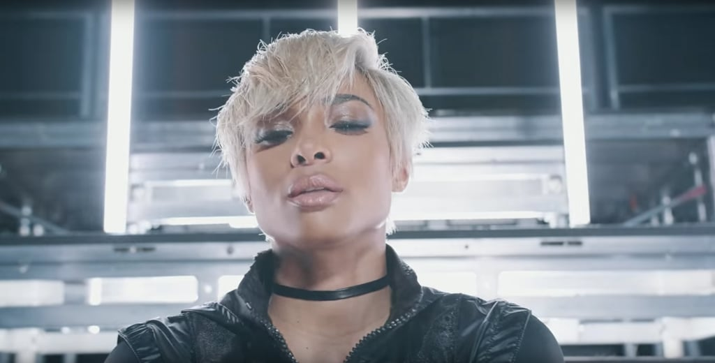 "Ciara's Short Blond Hair in ""Set"" Music Video"