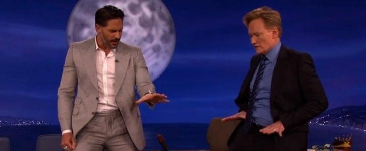 Joe Manganiello Teaching Conan O'Brien Stripper Moves