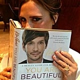 Victoria Beckham sent her congratulations to friend and hairstylist Ken Paves on his new beauty book. Source: Twitter user victoriabeckham