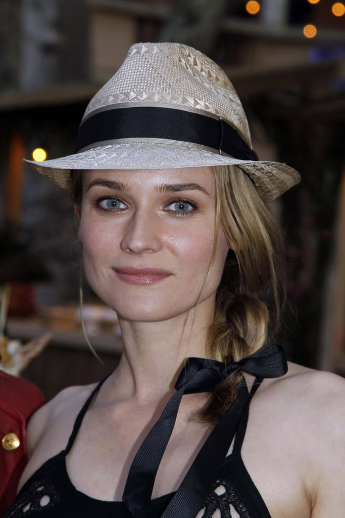 Pictures of Diane Kruger and Joshua Jackson in St Tropez At Karl Lagerfeld Short Film Screening
