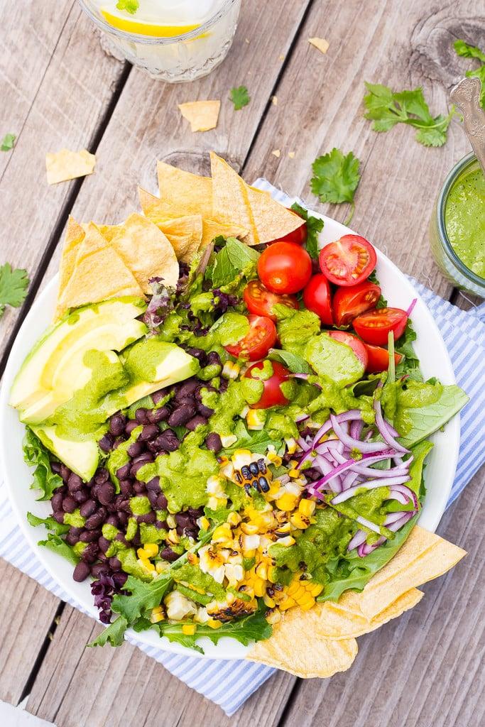Summer Taco Salad Bowls