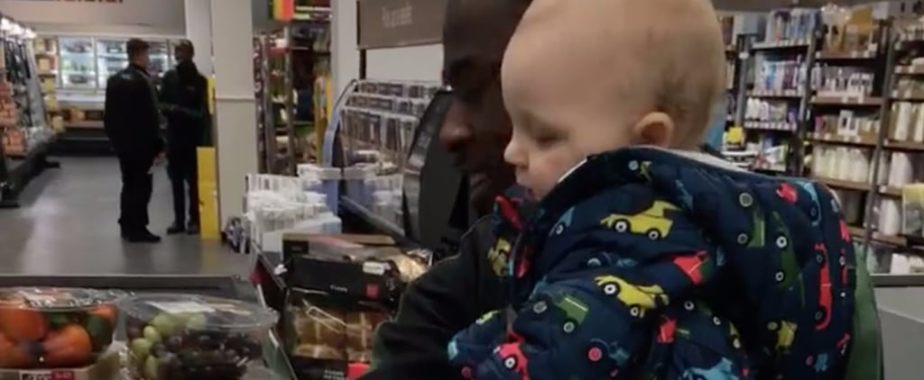 """Why a Stranger at a Grocery Store Is 1 Mom's Hero For """"Taking"""" Her Baby"""