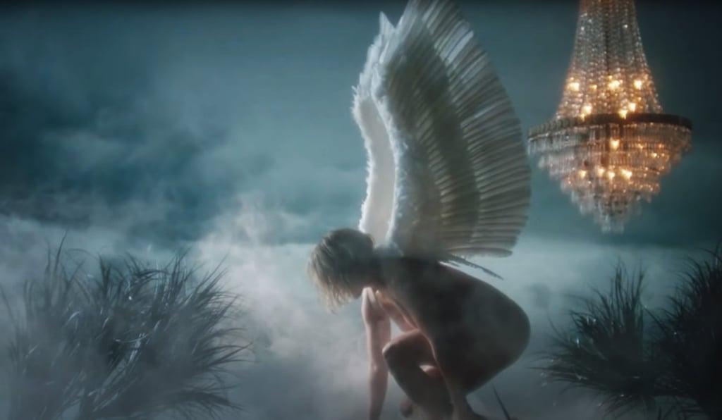 Jennifer Lopez Wears Nothing but Angel Wings