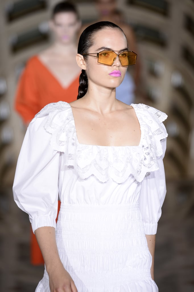 Sunglasses on the Self-Portrait Runway at New York Fashion Week