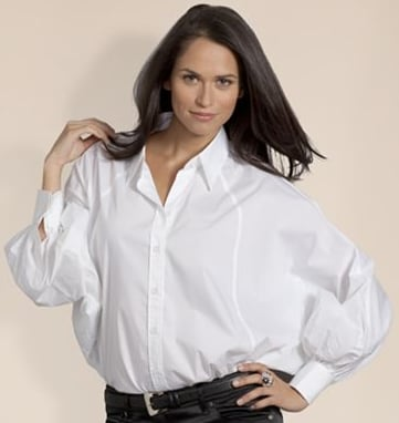 Stylish White Button-Down Shirts | POPSUGAR Fashion