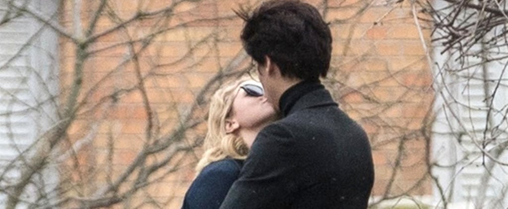 Cole Sprouse and Lili Reinhart Kissing in Paris Pictures
