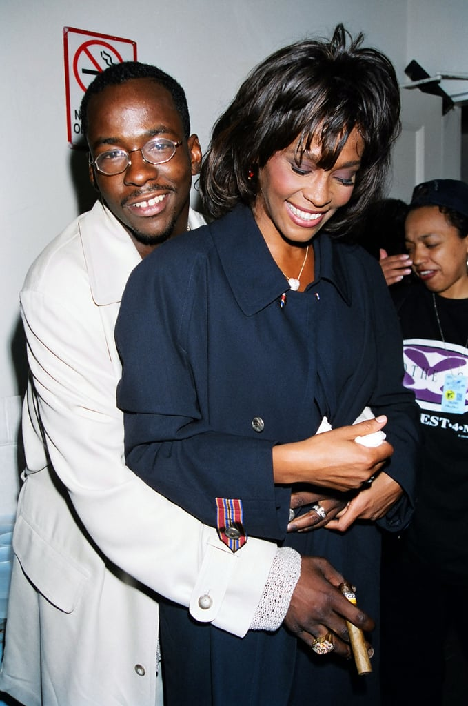 Whitney Houston and Bobby Brown, 1995
