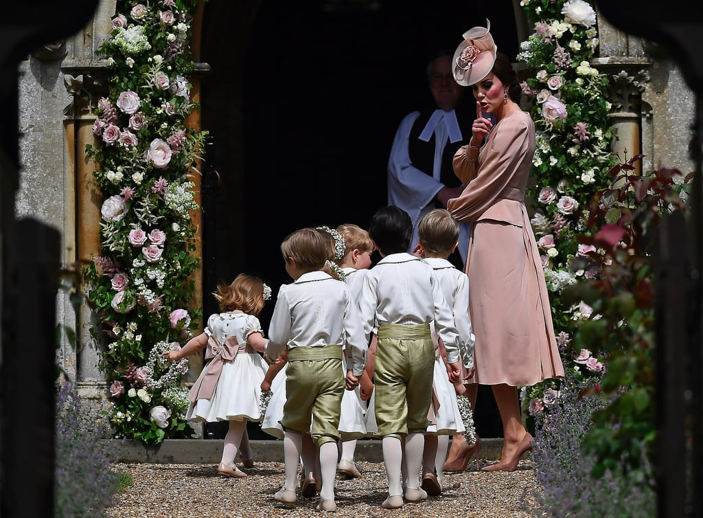 Kate Middleton At Pippa Middleton's Wedding Pictures