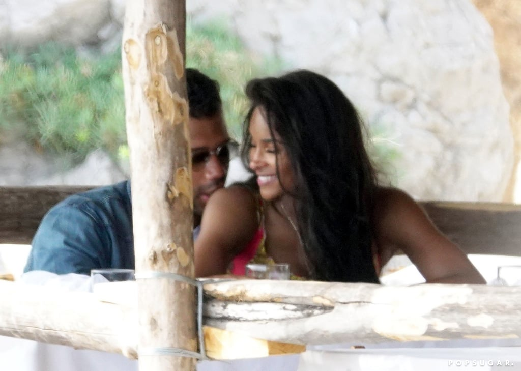 """Ciara and Russell Wilson are setting our vacation expectations sky-high after their getaway to Italy. The couple jetted off to the European country on July 1 for a few days of delicious food, shopping, gondola rides, and, of course, unbelievable fashion. On July 6, the pair celebrated their fifth wedding anniversary with a private dinner. """"5 years of Love as husband & wife, mom & dad, best friends, business partners and more,"""" Russell wrote on Twitter. """"You leave me speechless. There are no words that could ever describe my love for you. Only Heaven knows. 5 years & Forever to go! Andiamo!"""" You can count on Ciara and Russell to turn the world into their runway. Whether they're strolling through outdoor markets or posing for photos together, these two know how to have a good time. Can they share their itinerary? There's something incredibly dreamy (and romantic!) about a trip like this. Get a glimpse of their weekend holiday in the photos, ahead.       Related:                                                                                                           Ciara and Russell Wilson's Son Win Just Made His Red Carpet Debut — and He's Not Even 1 Yet"""