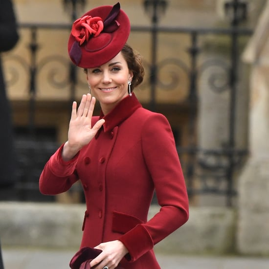 The Duchess of Cambridge's Red Outfit at Commonwealth Day