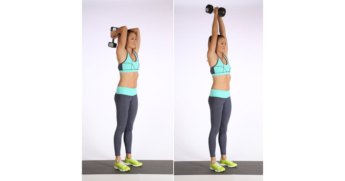 Circuit 1, Exercise 5: Overhead Triceps Extensions ...