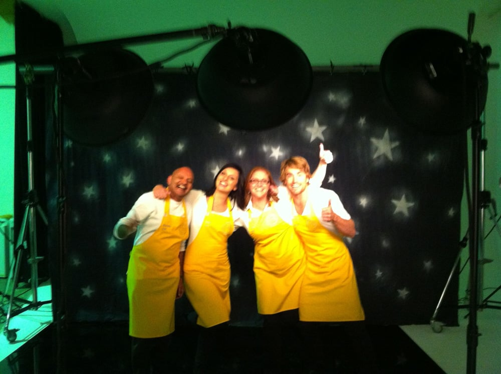 Kumar, Dani, Kate and Hayden from MasterChef 2011 are returning for MasterChef All Stars later this year. Source: Twitter user hayden_quinn