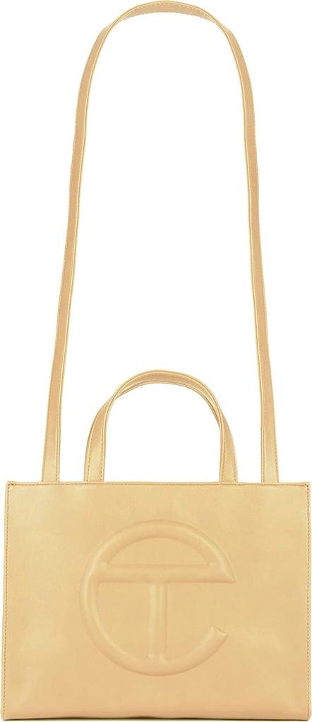 Telfar Medium Shopping Bag in Cream