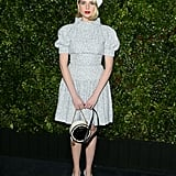 Lucy Boynton at the Charles Finch and Chanel Pre-Oscars Awards Dinner