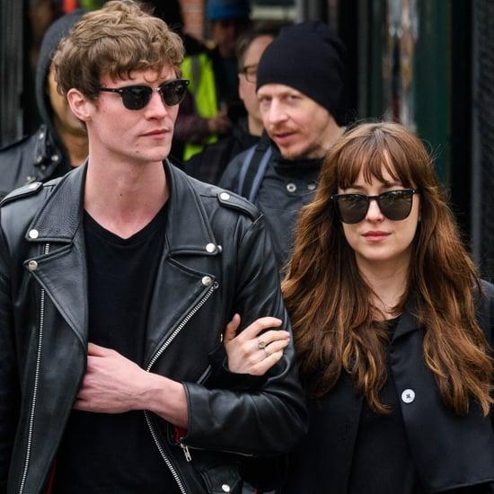 Dakota Johnson and Her Boyfriend in NYC May 2016