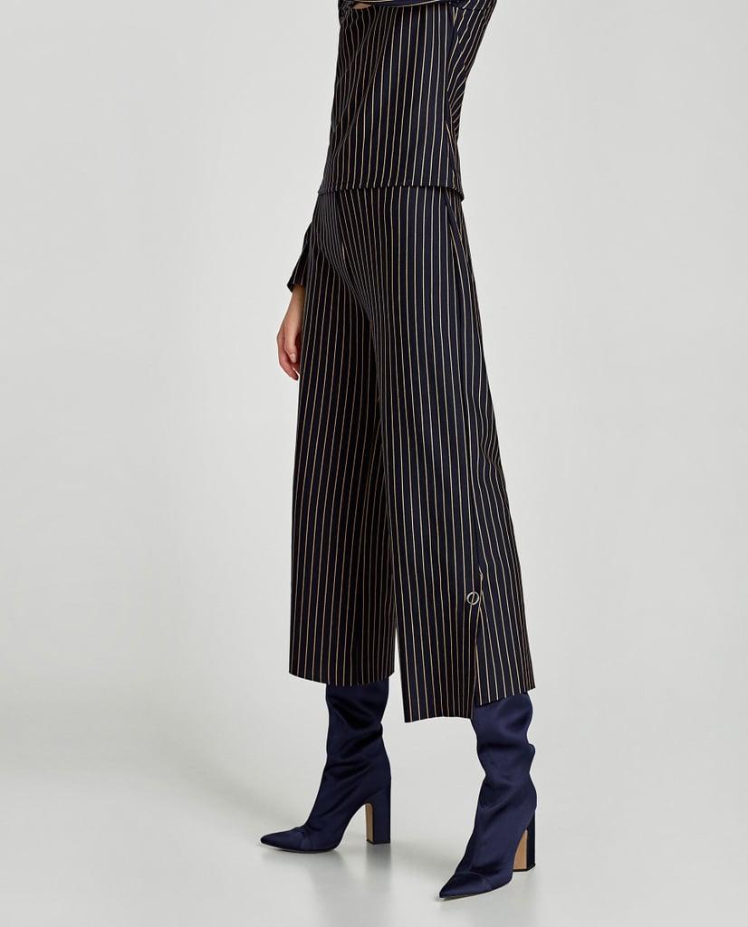 Zara Pinstripe Trousers