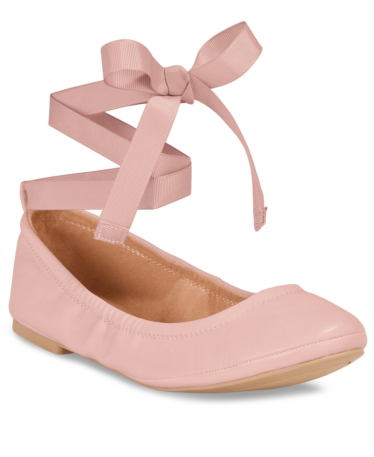 Spring Conboy Lace-Up Ballet Flats ($30