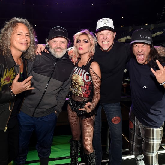 Lady Gaga's Metallica Tattoo Before the 2017 Grammys