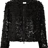 Add a downtown cool touch to your look with this Robert Rodriguez faux leather black jacket ($179, originally $1,195).