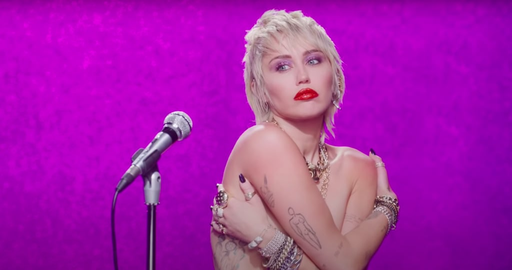 "Miley Cyrus's Best Beauty Looks in ""Midnight Sky"" Video"