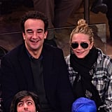 Mary-Kate Olsen was all smiles during the game.