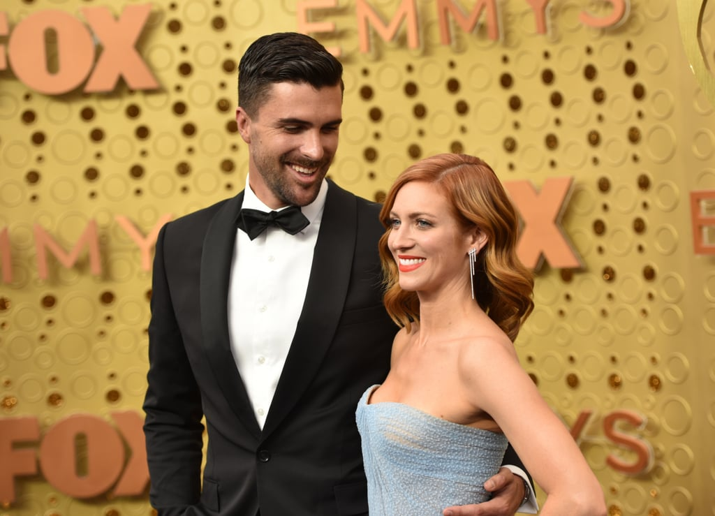 Tyler Stanaland and Brittany Snow at the 2019 Emmys