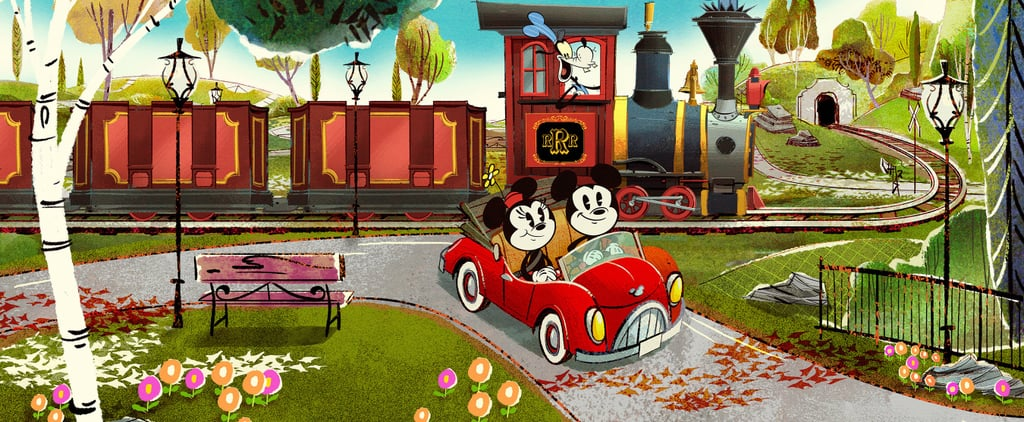 Disney Just Released a Sneak Peek of What Mickey and Minnie's Runaway Railway Will Be Like!