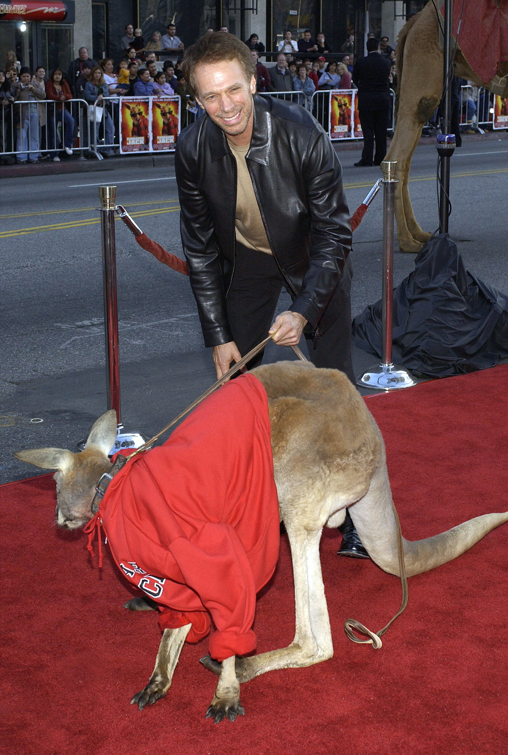 The premiere of 2003's Kangaroo Jack was a hopping good time for producer Jerry Bruckheimer.