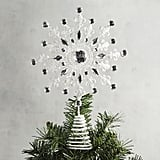 White and Silver Tree Topper ($20)