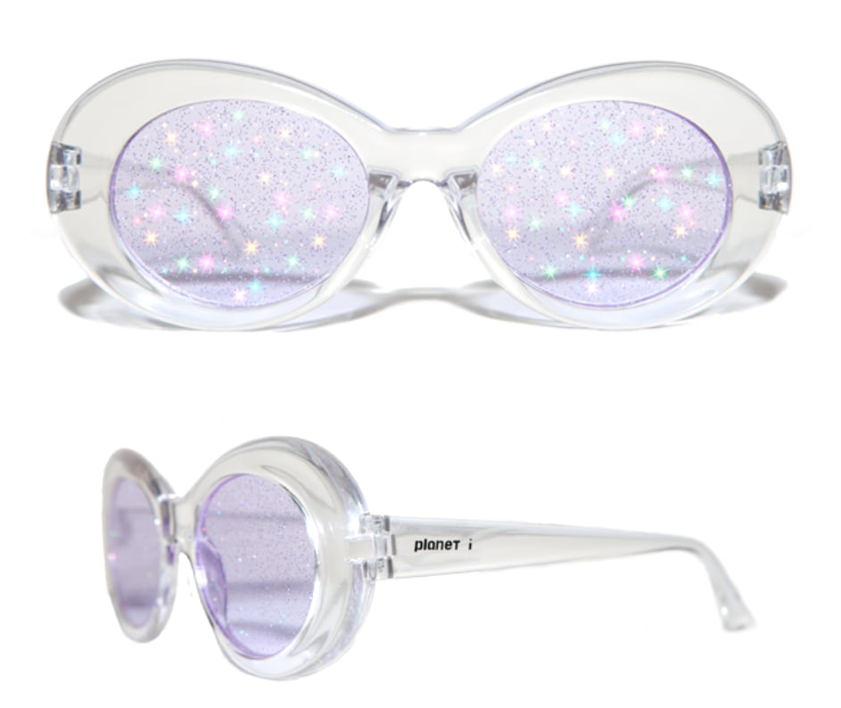 Extraterrestrial Clear Purple Lens ($72)