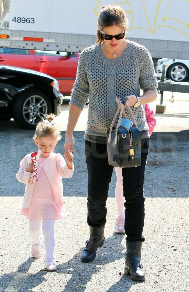 Jennifer Garner took Seraphina Affleck to ballet.