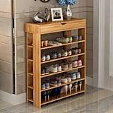 Soges Wooden Shoe Storage Shelf