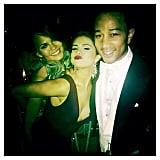 Selena Gomez met one of her favorite couples, Chrissy Teigen and John Legend. Source: Instagram user selenagomez