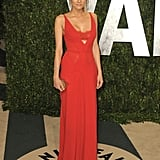 Diane Kruger Goes Supersexy in Red Bra-Revealing Dress For Vanity Fair Oscars Bash