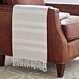 Stone & Beam Striped Throw Blanket