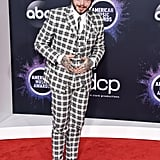 Post Malone at the 2019 American Music Awards