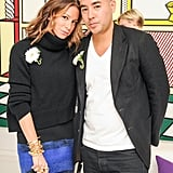 Jennifer Fisher and Max Osterweis feted their membership in the CFDA at the new members party.