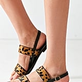 Urban Outfitters Penny Leopard Sandal